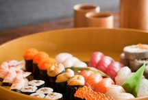 JAPAN_Sushi 寿司 / Sushi (すし, 寿司, 鮨, 鮓, 寿斗, 寿し) is a Japanese food  / by M. Kawatou
