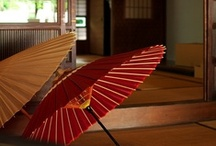 JAPAN_Wagasa 和傘 / Japanese umbrella, Wagasa / by M. Kawatou