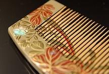 JAPAN_Kushi 櫛 / Japanese comb / by Masaki Kawato