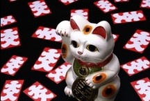 JAPAN_Manekineko 招き猫 / Lucky Cat  / by M. Kawatou