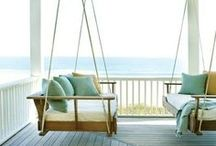 outdoor showers & perfect porches / Excellent outdoor spaces
