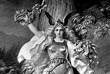 images of goddesses / girl power - a historical survey / by libtea