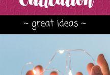 Education - GREAT Ideas!