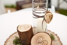 Candles and holders