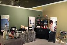 Booth ideas / Ideas for setting up a vendor booth for BeautiControl In-home Spas.