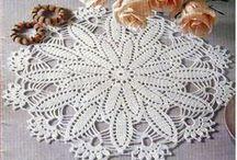 Crocheted - doilys