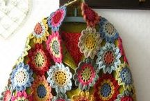 Crochet Scarves , Shawls and Cowls