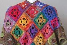 Crochet Jackets, Ponchos, Vests