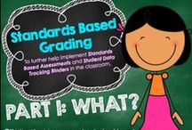 Standards Based Report Cards / Standards based assessment and reporting / by Kara Gordon