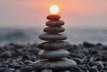 Stone Balance / I'd like to be like a rock - solid, stable and silent, but unexpectedly warm in touch.
