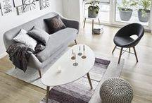 Scandinavian Home / Home decor and furniture inspired by Scandinavian design.