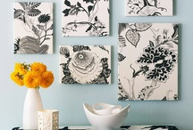 crafty home decor inspiration / Stuff I'd love to make for our home