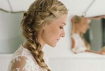 Bridal Beauty Inspiration / Ideas and inspiration on how to wear your hair and makeup for your wedding day.