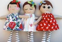 Craftable Dolls 'n' Critters .... / Cloth dolls, art dolls to make... / by Karen White