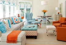 teal and orange style / by Boatman Geller