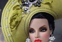 OOAK dolls, refashions, Barbies.
