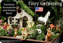 Fairy Garden | SHOP / Create your own fantasy land by mixing whimsy with nature. Baker's Village Garden Center has been specializing in miniature gardens for many years with a wonderful selection of plants, fairies and accessories. Let your imagination be your guide along with some helpful tips from the experts. To make your fantasy garden come to life, Baker's carries an amazing selection of houses, miniatures, and fairies.