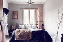 HappyHome: Bedroom + Closet / Eclectic, vintage, serene, clean, simple. / by Summer Rose