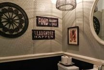 HappyHome: the Bathroom / Bathroom design and decor / by Summer Rose