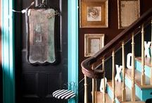Color Me Happy - Surfaces / Inspiration for painting walls, ceilings & floors