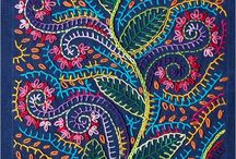 Fabric Decoration and manipulation / Altering fabric n textiles other than Machine Embroidery