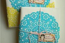 Wrapping + Gift Tags / by Art Bar Blog || Bar Rucci