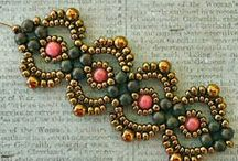 Crafty - bead patterns / When I'm finally ready to start playing with bead patterns... / by Zoë Heimdal