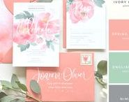 Wedding Watercolor Stationery