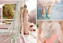 Wedding Color Moodboards