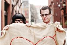 .Classy hipster wedding.