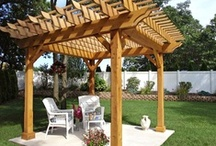 Outdoor Spaces / From pergolas to patios, get inspired to remodel your outdoor space with these DIY ideas. / by DIY Network