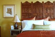 DIY Bedrooms / From DIY headboards to designs from the pros, these bedrooms are sure to inspire.  / by DIY Network