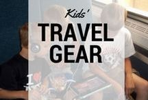 Travel Gear for Kids / Pit Stops for Kids' favorite travel gear for kids, including gear reviews. #gearreviews #gear