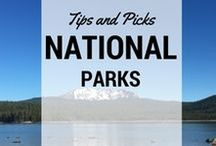National Park Destinations with Kids / National Park destinations and tips for families: what national parks to go to with kids, when to go, and travel advice! #nationalparks