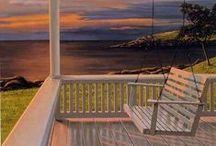Coastal Patios  / Inspired outdoor areas with a coastal twist!
