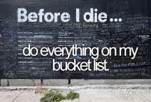 Bucket List / by Zarah Obias