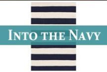 Colors | Into the Navy / Nothing like the contrast of rich, heart-stopping navy blue and  the freshness of sail-snappin' whites...at least to our way of thinking! / by Cottage & Bungalow