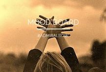 ADMIRAL ROW: When I'm in the Mood / MOOD BOARD FOR WWW.ADMIRALROW.COM