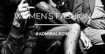 ADMIRAL ROW: I am Woman!!! / The Admiral Row girl loves mixing vintage,new or handmade pieces to create her own style. Don't put her in a box because she will not be defined! Inspiration from that girl who is inside all of us...