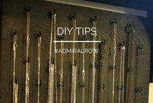 ADMIRAL ROW: DIY on the Fly