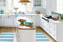 Beach Kitchens / These beach kitchen ideas will take your beach entertaining to the next level.