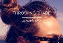 ADMIRAL ROW: Throwing Shade...