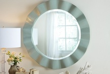 Mirrors / Reflect your home's beauty and character in 2013! Cottage and Bungalow has a large selection of custom crafted mirrors that will fit any budget and any space. Enjoy! / by Cottage & Bungalow