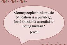 Music education / by Janice Mitchell Zook