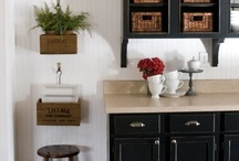 Black and White Rooms / From kitchens to bathrooms, here are our favorite black and white rooms.  / by DIY Network