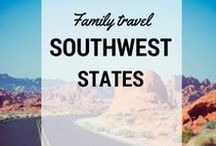 Southwest Family Travel / Southwest #travel ideas and destinations for families from Pit Stops for Kids #southwest