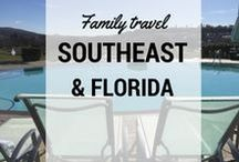 Southeast and Florida Family Travel / What to do and where to go in the #Southeast with kids: Southeast family travel ideas and destinations from Pit Stops for Kids. #travel #florida #gulfcoast