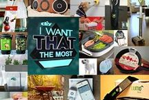 I Want That the Most / What are your favorite products from DIY Network's I Want That? Your repins and likes helped us determine the top 15 products for this year's special, I Want That the Most. Tune in November 27 at 10/9c to see if your picks made the list!