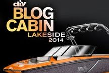 Design Blog Cabin's Boat / Help us design the boat that comes with Blog Cabin 2014! Repin and like your favorite interior, trailer and exterior looks by July 1. We'll reveal the winning design in a live chat with host, Chris Grundy, on July 2 at 3 p.m. ET. / by DIY Network