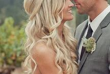 Bridal Hair / Different Hairstyles for your special day! Long, short, head pieces and up hair styles.